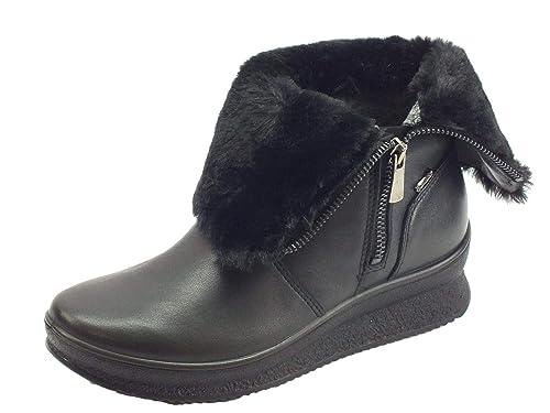 Sacs Zip et Noire Bottes Igi amp;Co 2167100 Chaussures tex Gore Chaussures Femme Cheveux Aw7YR