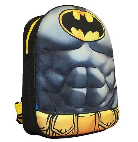 Mochila de Batman para niños, 32 cm, color gris