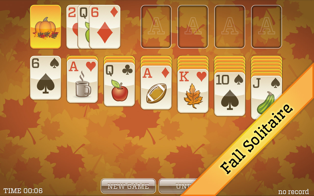Fall Solitaire - Classic Solitaire, Spider Solitaire, and more!