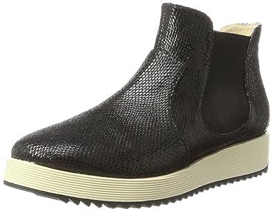 854cca8d497985 Buffalo Shoes Damen 15BU0144 Snake PU Chelsea Boots