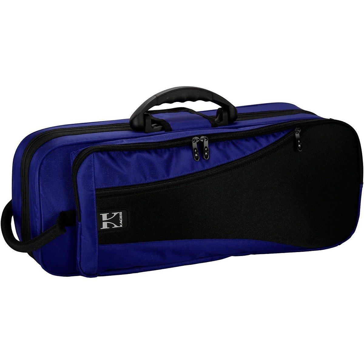 Kaces KBFB-TP2 Lightweight Hard-shell Trumpet Case, Dark Blue