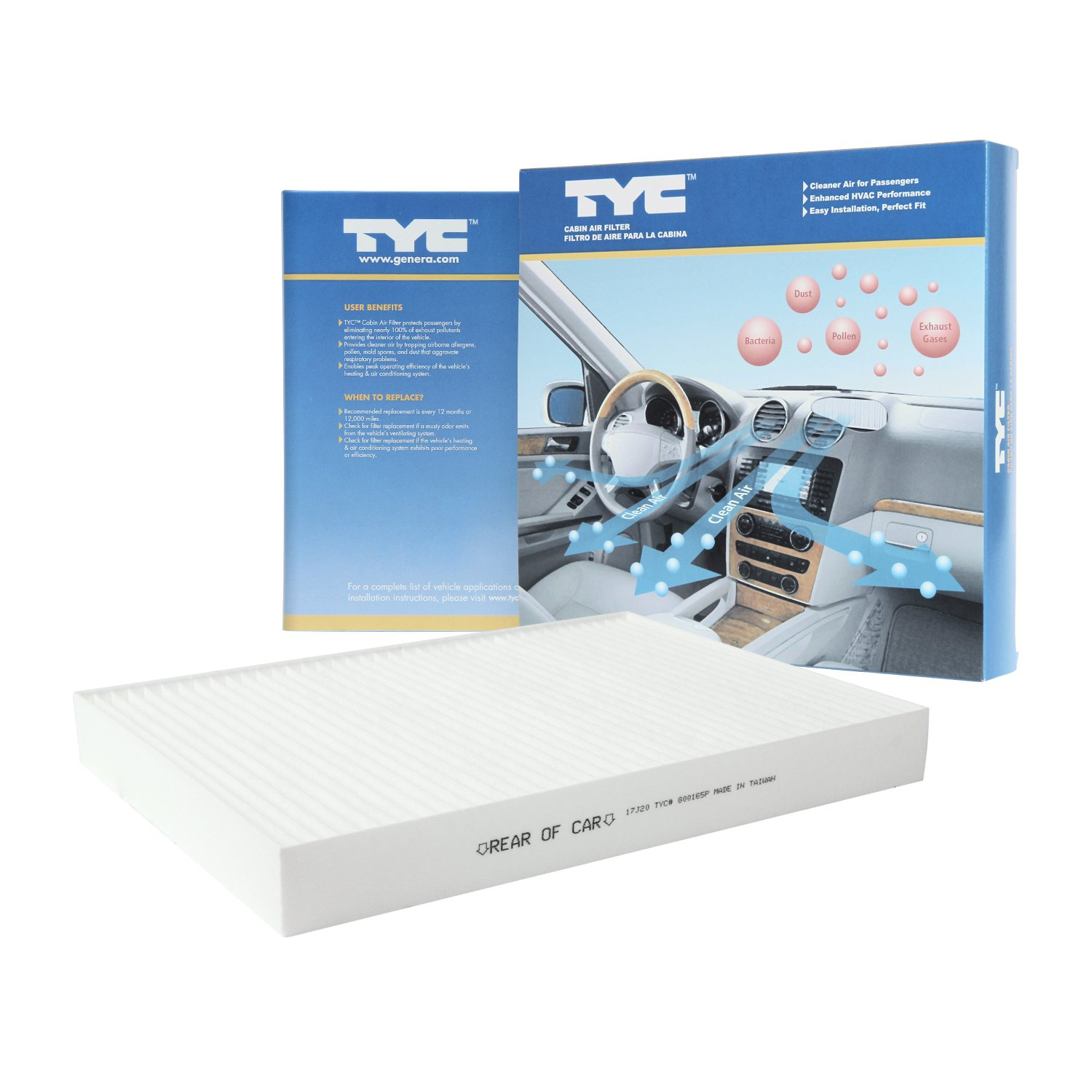 Cabin Air Filter TYC 800186C