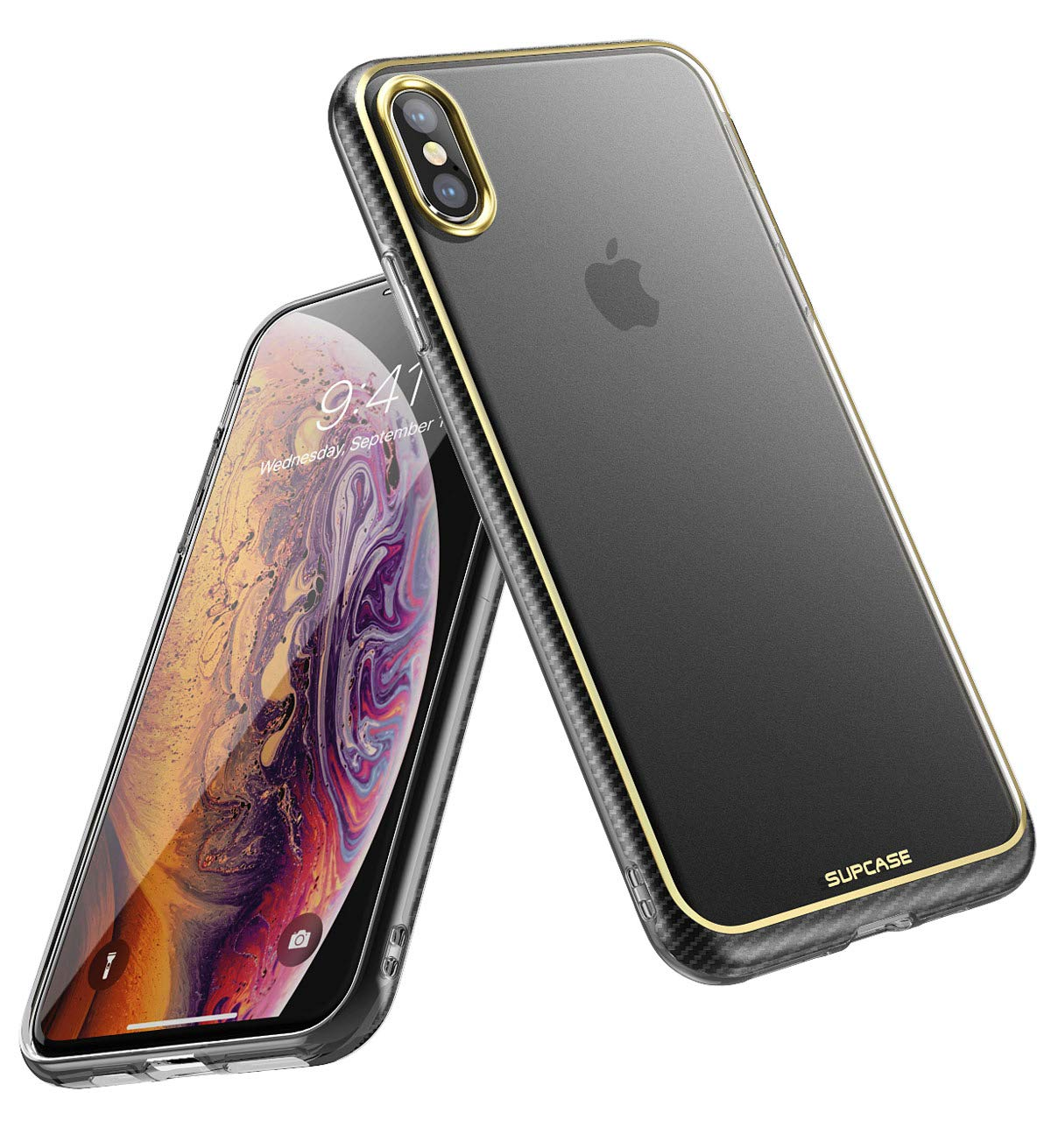 iPhone Xs Case, iPhone X Case, SUPCASE Unicorn Beetle Metro Series Slim Soft TPU Clear Cover for Apple iPhone X 2017/ iPhone Xs 2018 (Frost)