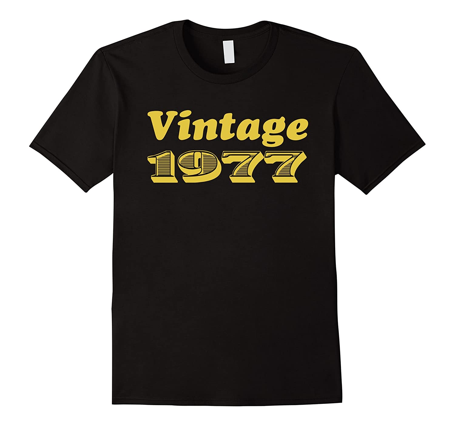 Great 40th Birthday Gift Ideas Vintage 1977 T Shirt CL