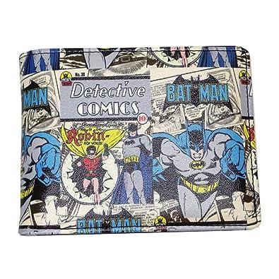 DC Comics Officially Licensed Batman /& Joker Vintage Pop Wallet In A Tin