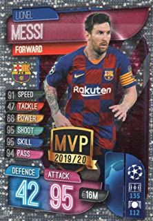 Match Attax 2019//20 Centurión Lionel Messi Barcelona 305