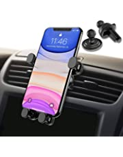 Syncwire Car Phone Holder - Universal Gravity Linkage Car Phone Mount Auto Lock 360° Rotation Air Vent Car Cradle for iPhone 11/11 Pro/11 Pro MaxX/8/7/6 Samsung S10 HTC Sony Huawei P30 GPS and More