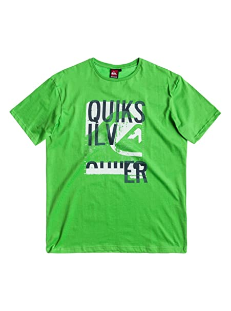 QUIKSILVER surf para hombre/para patines T-camiseta de manga corta chaqueta de señora en saltamontes verde: Amazon.es: Ropa y accesorios