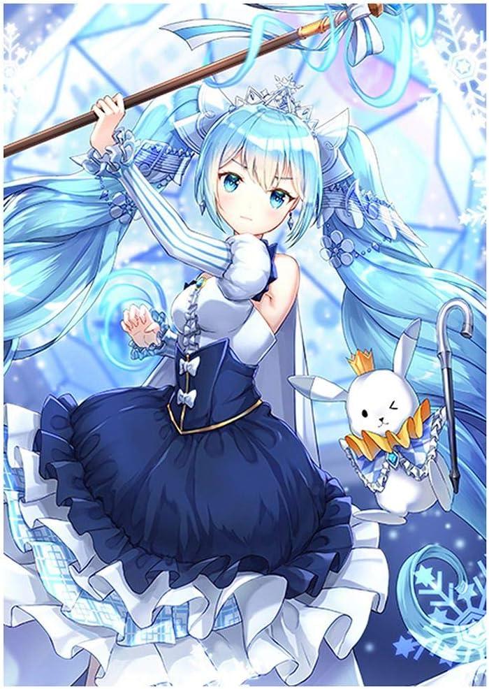 P/óster de personajes para decorar el hogar Gaogaloga Anime Hatsune Miku