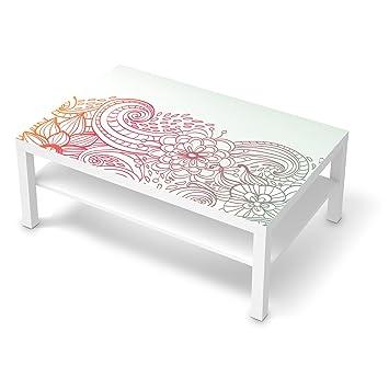 Klebesticker Tapete Folie für IKEA Lack Tisch 118x78 cm   Möbel ...