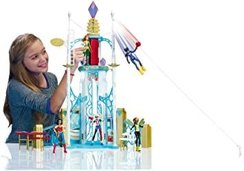 Amazoncom Dc Super Hero Girls Super Hero High School Playset Toys