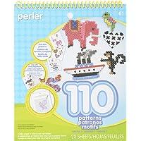 Perler Beads Patterns and Idea Book para Manualidades Infantiles, 28 Unidades
