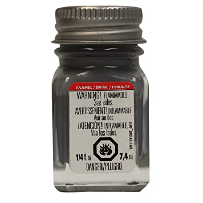 Testors 11TT-1163 Enamel Paint Open Stock, 0.25-Ounce, Flat Battle Grey: Arts, Crafts & Sewing