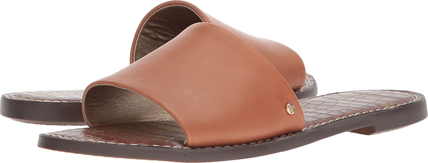 Sam Edelman Women's Gio Slide Sandal B076MDSPG1 6 B(M) US|Saddle Atanado Leather