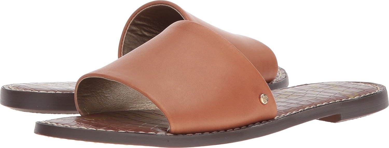 Sam Edelman Women's Gio Slide Sandal B076MHK6XG 8 B(M) US|Saddle Atanado Leather