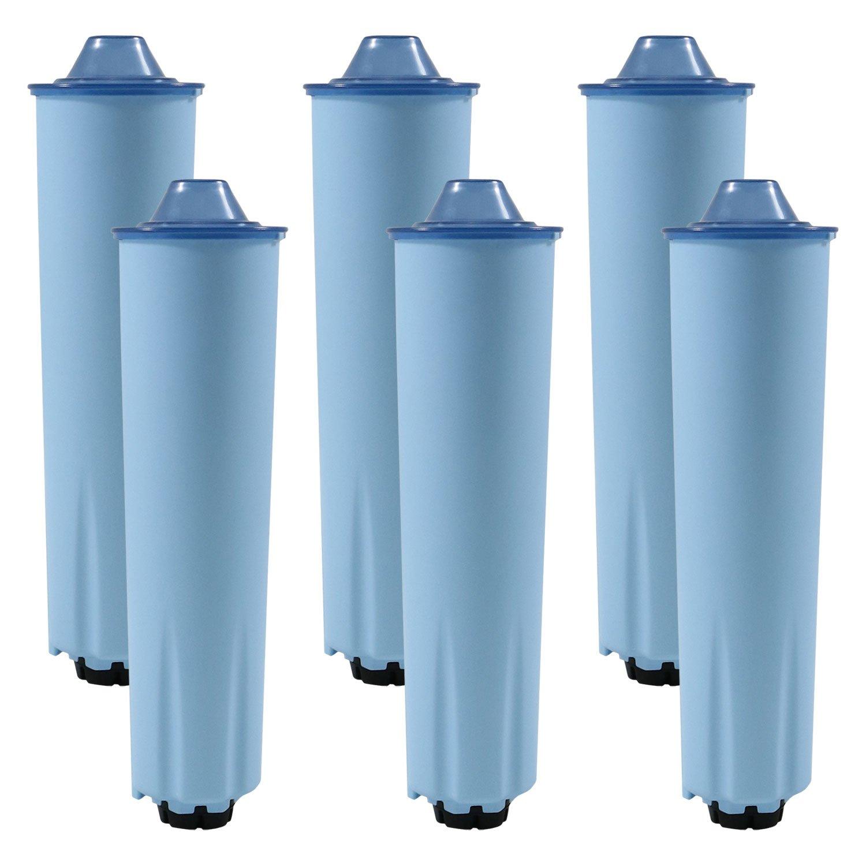 6 x - Cartucho de filtro de agua para cafeteras automáticas Jura (filtro tinta Blue): Amazon.es: Hogar