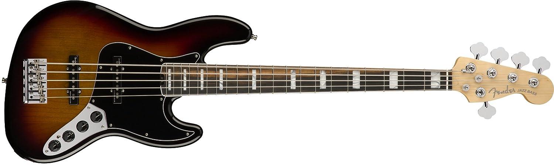 人気定番の Fender エレキベース American Elite Jazz Elite Sunburst Bass® V, B019I3P3PQ Ebony Fingerboard, 3-Color Sunburst B019I3P3PQ タバコサンバースト タバコサンバースト|メイプル, 南風原町:f9958f43 --- webdesign-grevesmuehlen.de