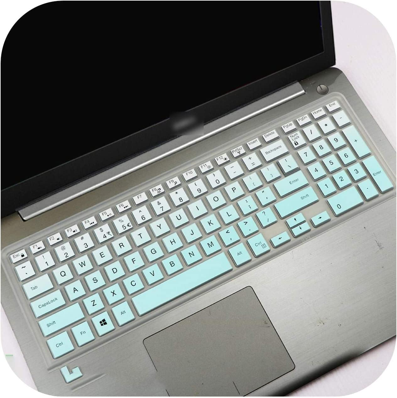 Silicone Laptop Keyboard Cover Skin for 15.6