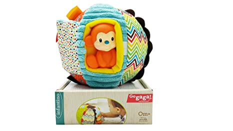 Bkids France peluche pelota sorpresa, multicolor: Amazon.es: Bebé