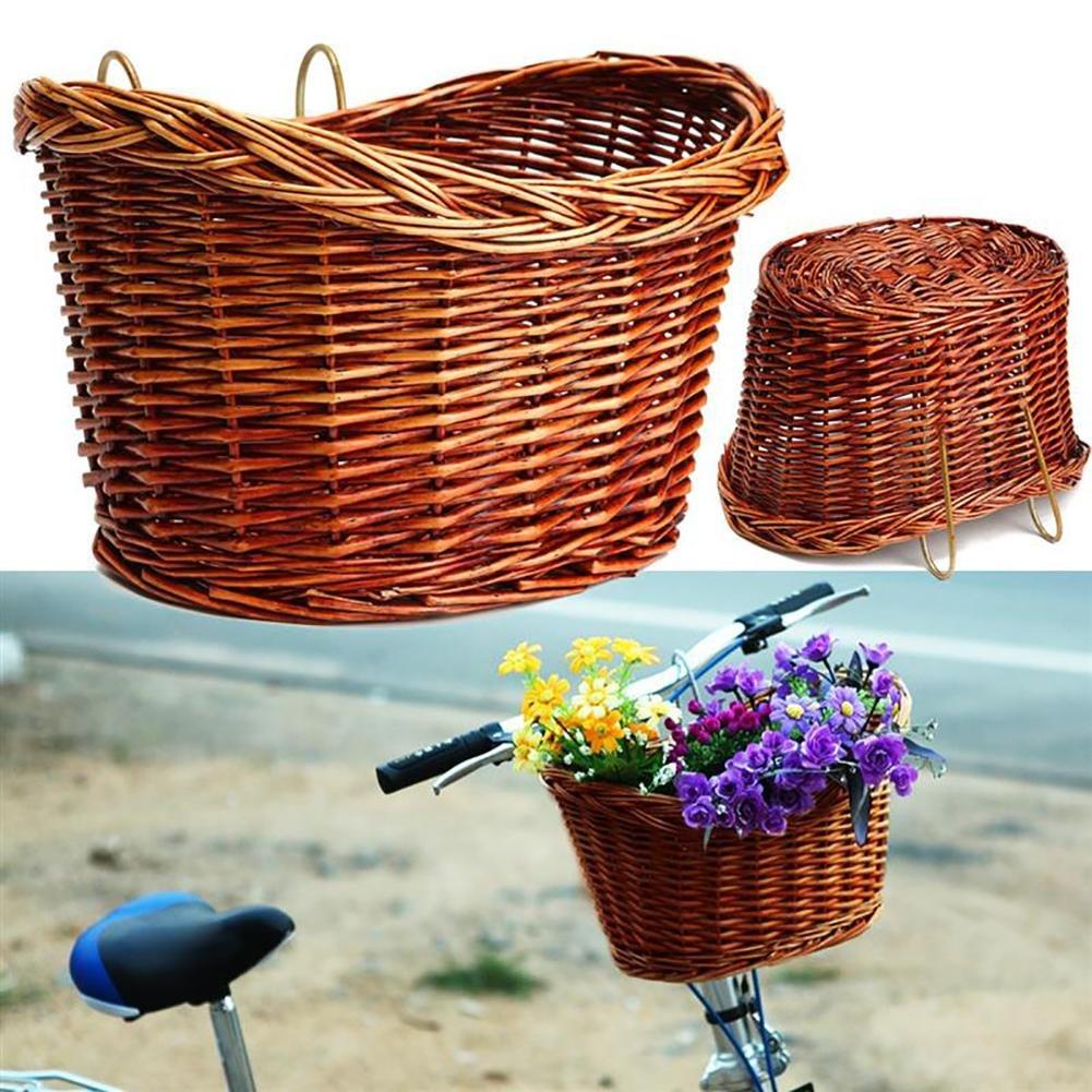 Luerme Panier Avant de Bicyclette Panier de v/élo de Voiture /électrique