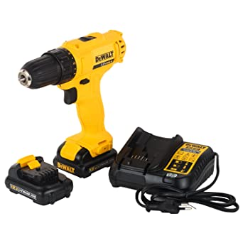 Dewalt DCD700C2A-IN 12V, 1.3Ah, Drill Driver with 109 Pieces Accessory Kit