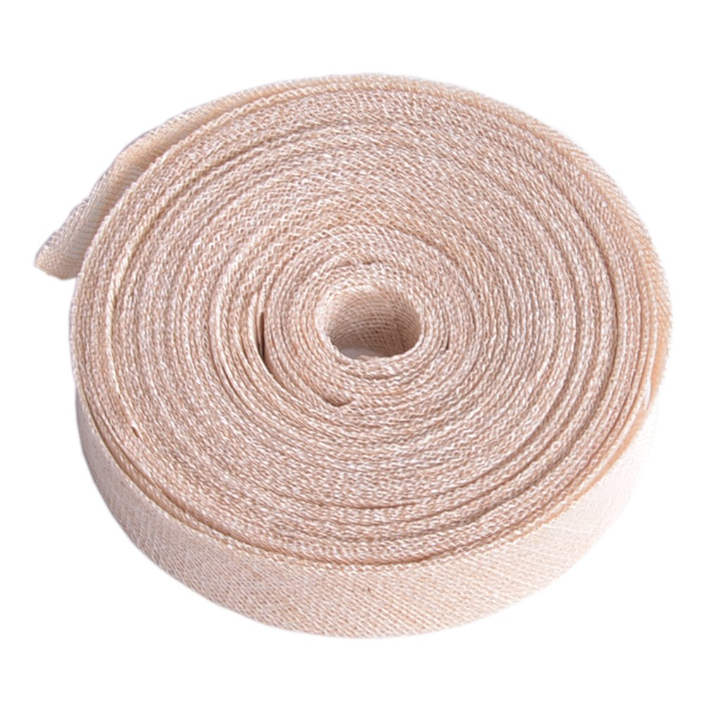 Hot Pink 3pcs Lawliet 1.1 Yard Sinamay Ribbon Bias Binding for Hat Fascinator Craft use B083