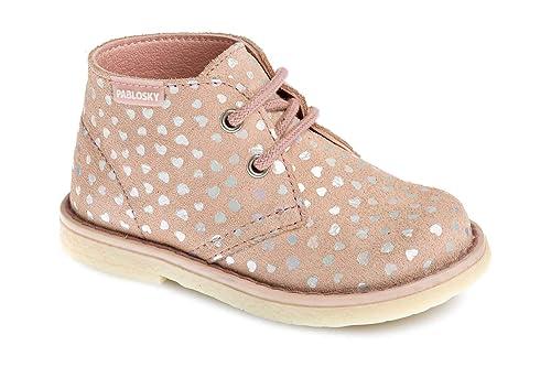 b9878fd8 Pablosky 040927 - Botas de Cuero para niña: Amazon.es: Zapatos y ...