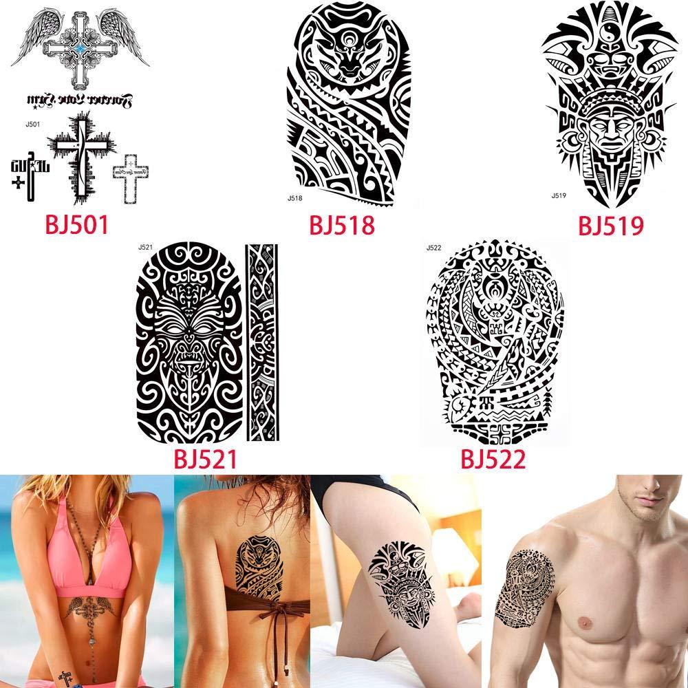 adgkitb Etiqueta engomada Temporal Impermeable del Tatuaje de la ...
