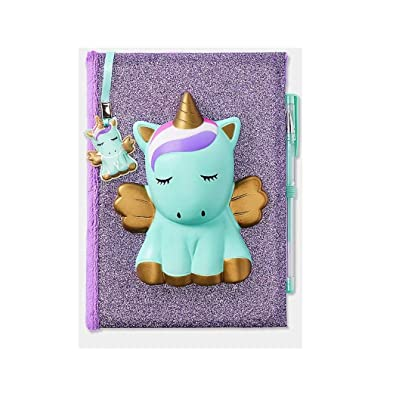 Justice Unicorn Squishy Squish Diary Journal: Toys & Games
