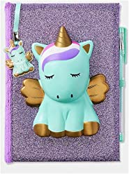 Justice Unicorn Squishy Squish Diary Journal