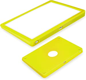Silicone case for Magic Trackpad 2 Silicon case for Apple Wireless Touchpad Apple Trackpad Protective Cover,Anti-dust and Anti-Scratch Washable Wear-Resistant Silicone Skin(Lemon Yellow)