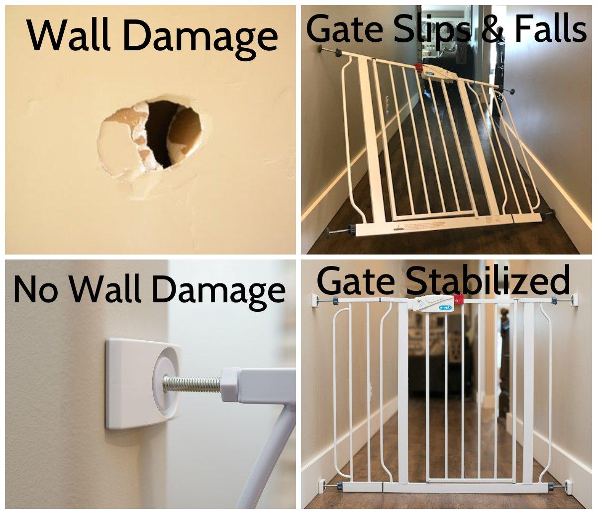 Amazon Com Wall Nanny Baby Gate Wall Protector Made In Usa