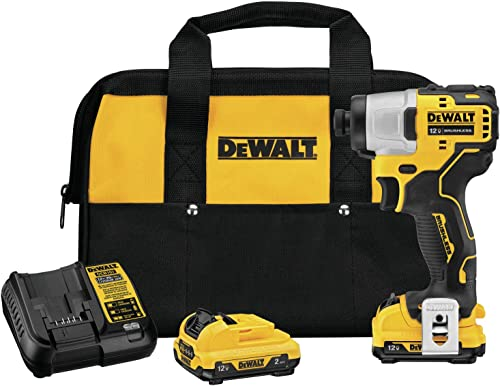 DEWALT DCF801F2 Xtreme 12V Max Brushless 1 4 in. Cordless Impact Driver Kit