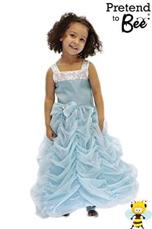 Girls Kids Childrenu0027s Blue Princess Movie Star Hollywood or Cinderella Fancy Dress Halloween Party Costume 7  sc 1 st  Amazon UK : kids movie star costume  - Germanpascual.Com