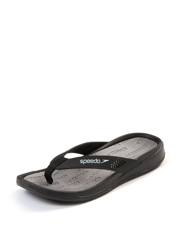 e65cffdeaa5e Speedo Men's Shirahama Thong Sandal - Size 10, Black/Grey/White:  Amazon.co.uk: Shoes & Bags