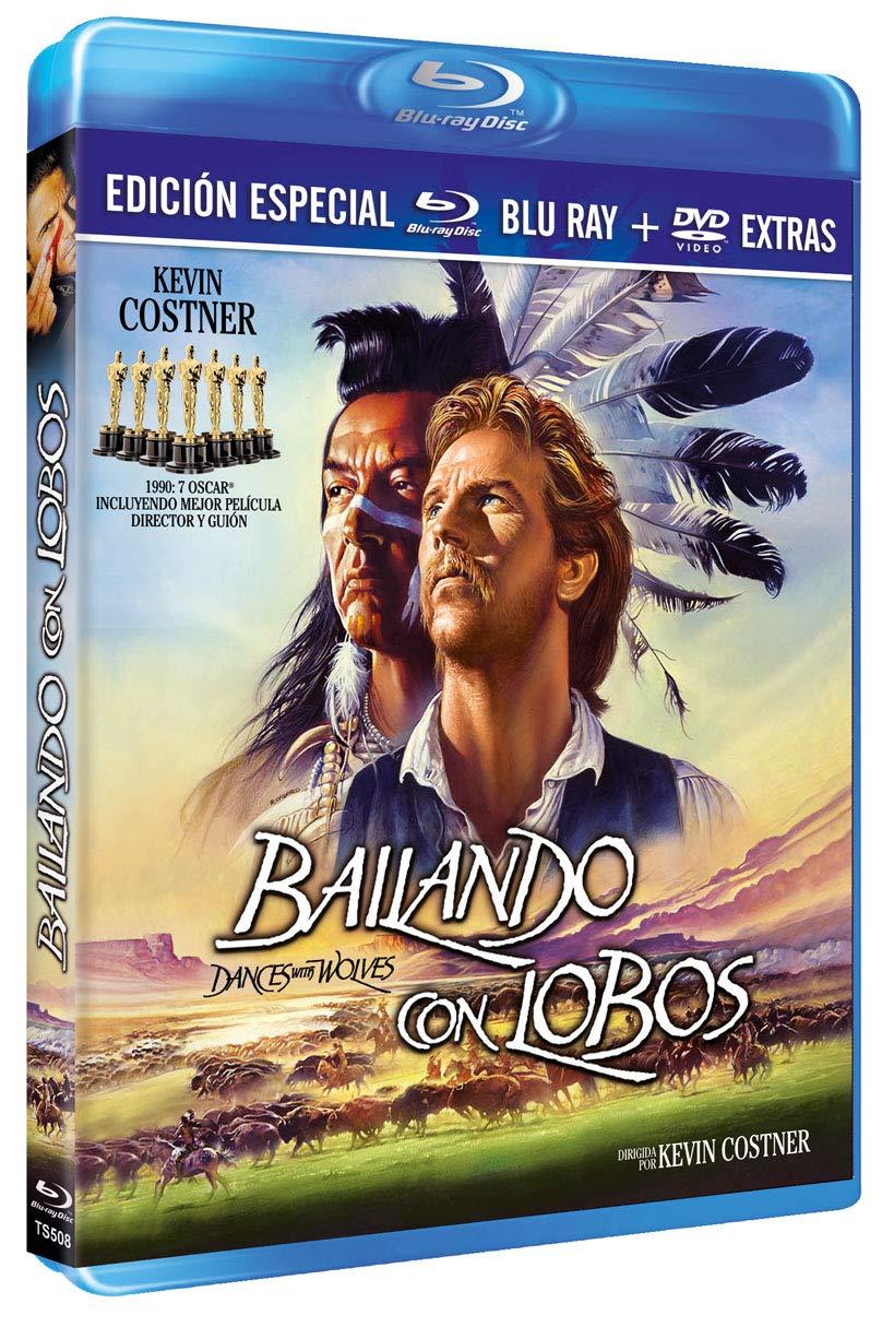 Bailando con Lobos BD+ DVD Extras 1990 Dances with Wolves [Blu-ray]