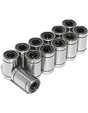 [Sintron] 12pcs LM8UU Linear Ball Bearing Bush Bushing for 8mm Rod RepRap 3D Printer Prusa Mendel i3 Kossel Delta etc..
