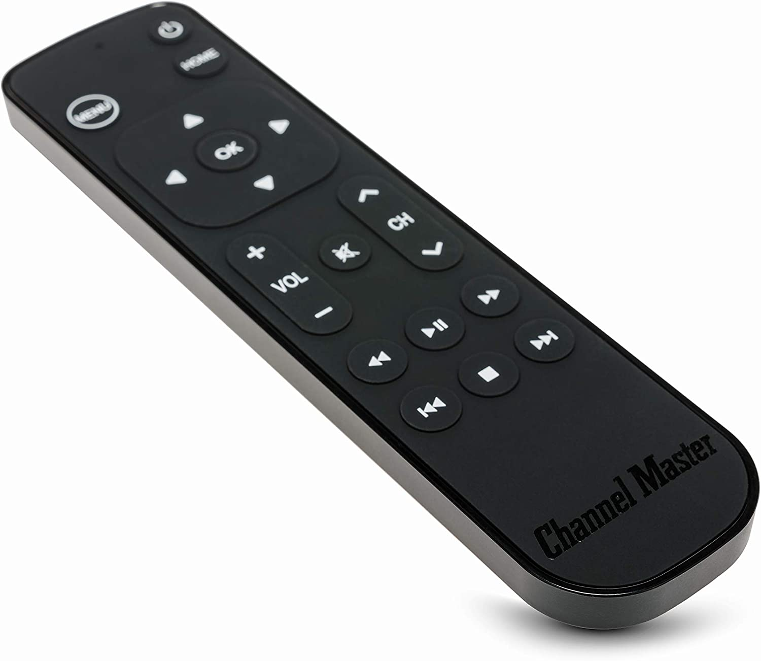 Channel Master Simple Remote, CM-7000XRC Compatible with Apple TV and Apple TV 4K - Replacement, Secondary Remote Control