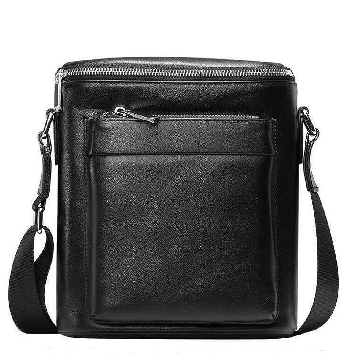 Geschäft Casual Wichtige Composite-Ledertasche Quadratische Tasche Für Männer Schwarz