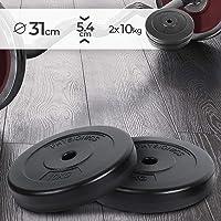 Physionics® - HSTA18-2 Discos de Pesas de 10kg