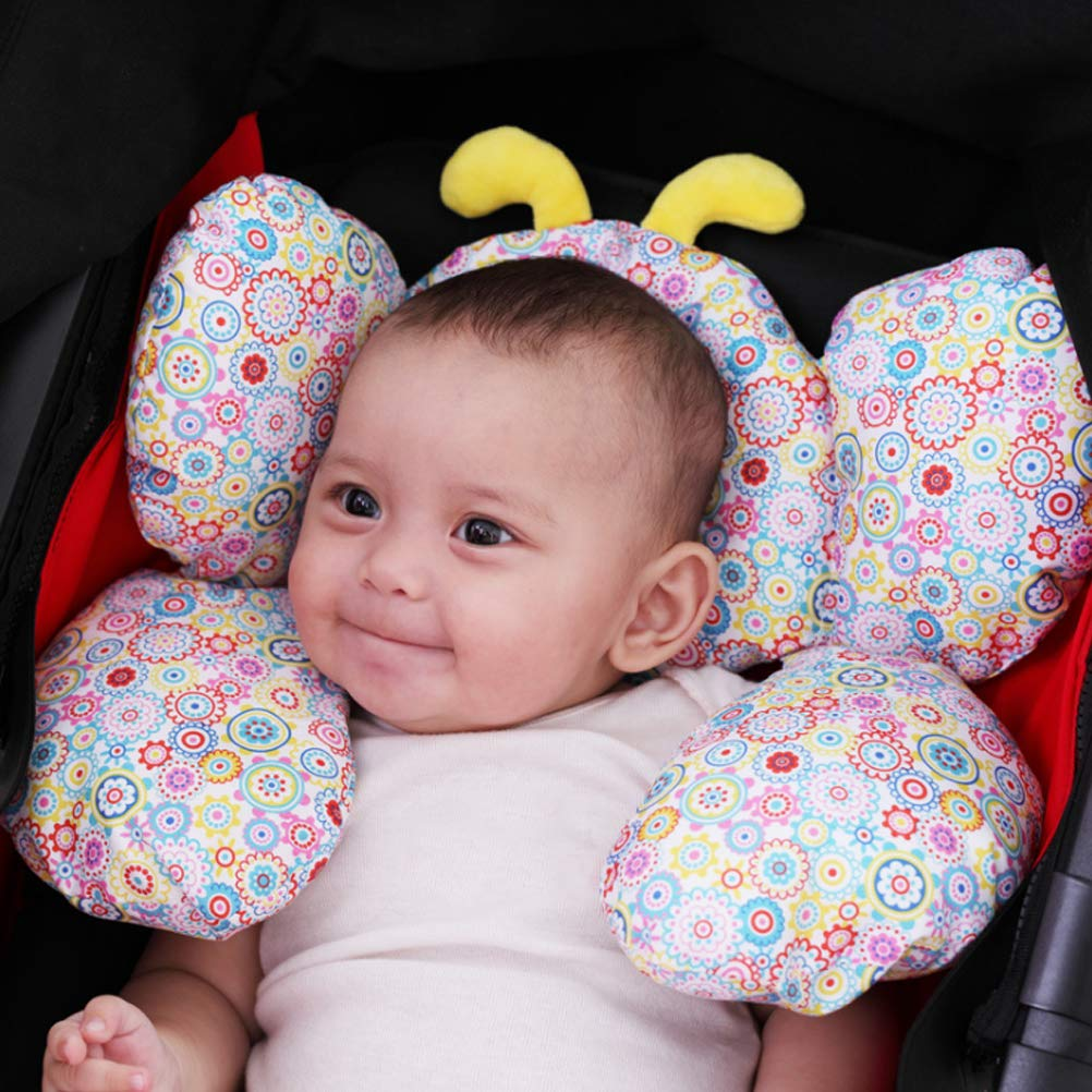 BAOGELA Puahchair Head Support EAHOME Soft Newborn Infant Headrest And Neck Pillow For Car SeatTravel