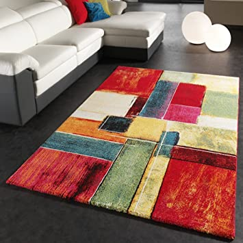 phc tapis moderne splash de marque color modle carrel neuf eo dimension200x290 cm - Tapis Moderne