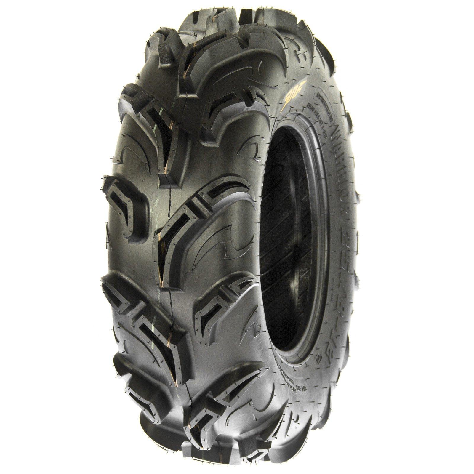 SunF Warrior AT-Mud & Trail ATV/UTV Tire 25x8-12, 6PR, 1.18'' Tread Depth