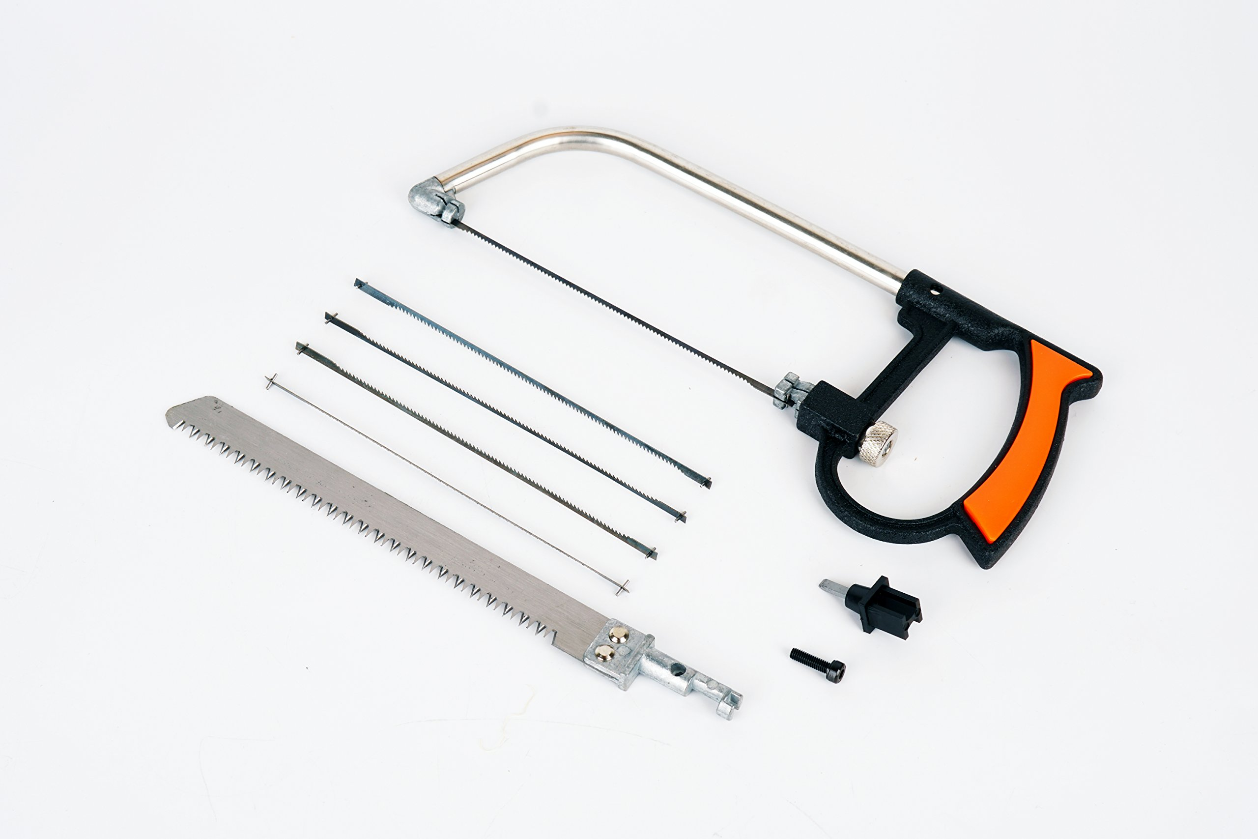 Mini suit handsaw JCT 8pc Magic Universal Hand Saw Kit Toolbox Of Multi Blades Set Works As Hacksaw Coping Bow Jab Rip Pruning Chain Handsaws A Cutter Suitable To Cut Wood PVC Pipes Glass