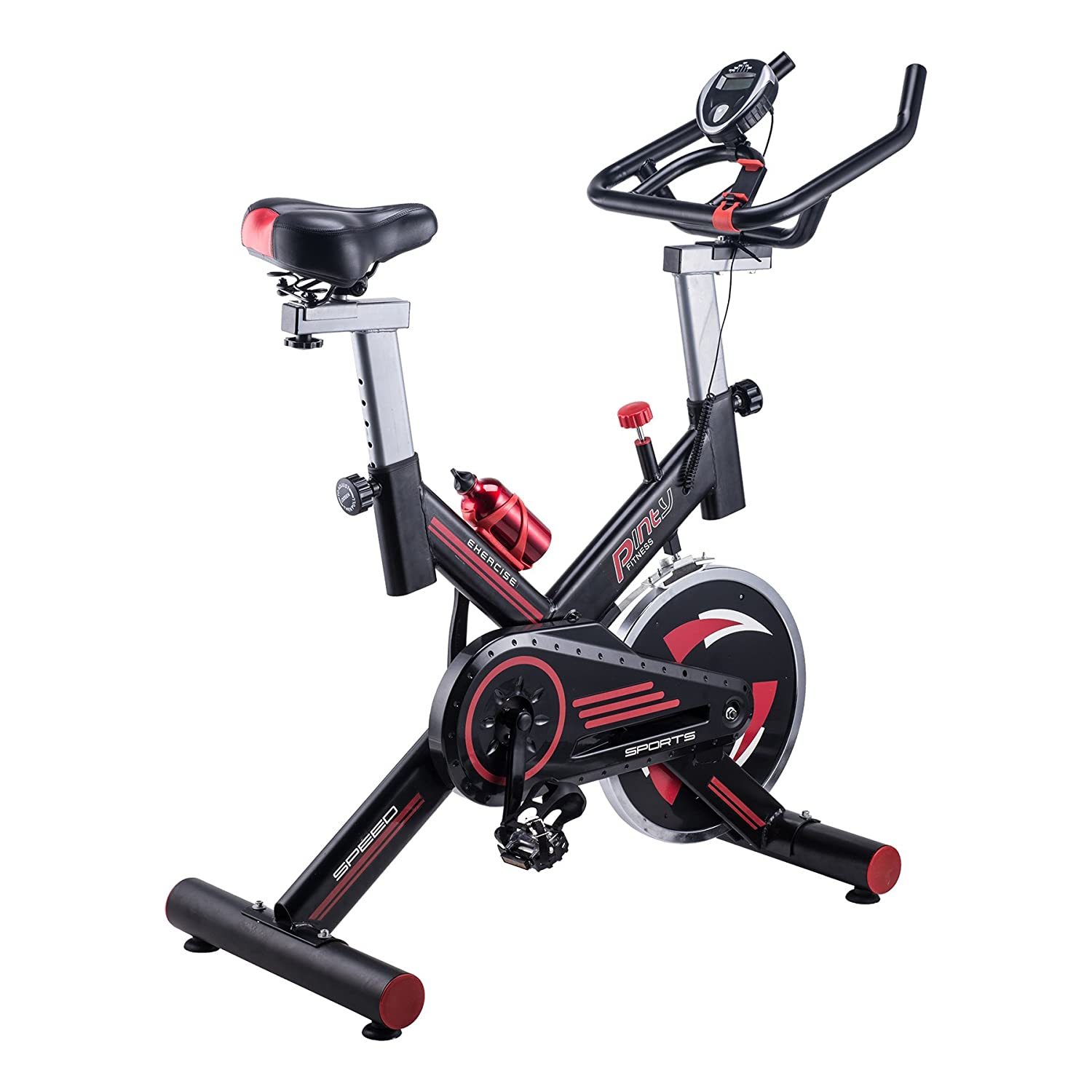 amazon com pinty indoor cycling bike stationary trainer indoor