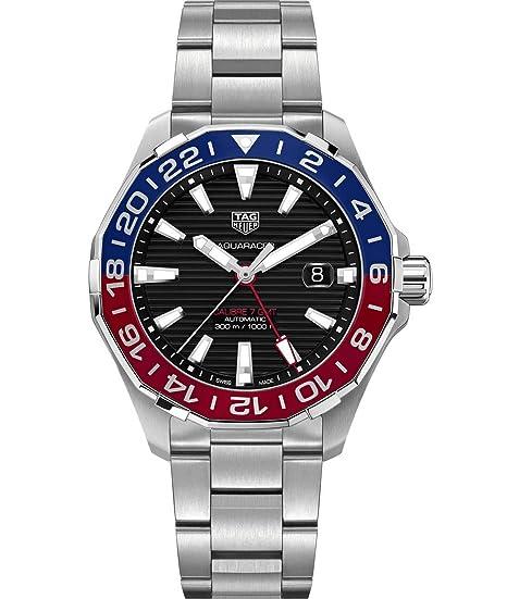 TAG Heuer Aquaracer Automático Mens Reloj way201 F. ba0927: Amazon.es: Relojes