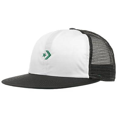 78206b49e2c3d Converse Star Flat Trucker Cap Basecap Baseballcap Meshcap Snapback Kappe  (One Size - grün)