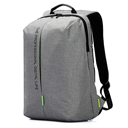 Amazon.com  Kingsons Laptop Backpack 15.6 Inch Waterproof Nylon Bags ... 25a9e808397a4