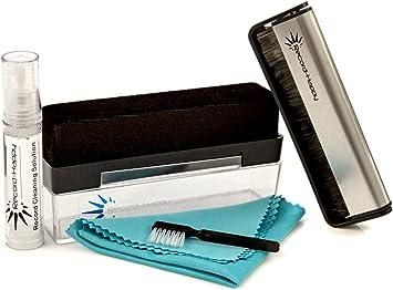 Amazon.com: Kit de cepillo de limpieza para discos de vinilo ...