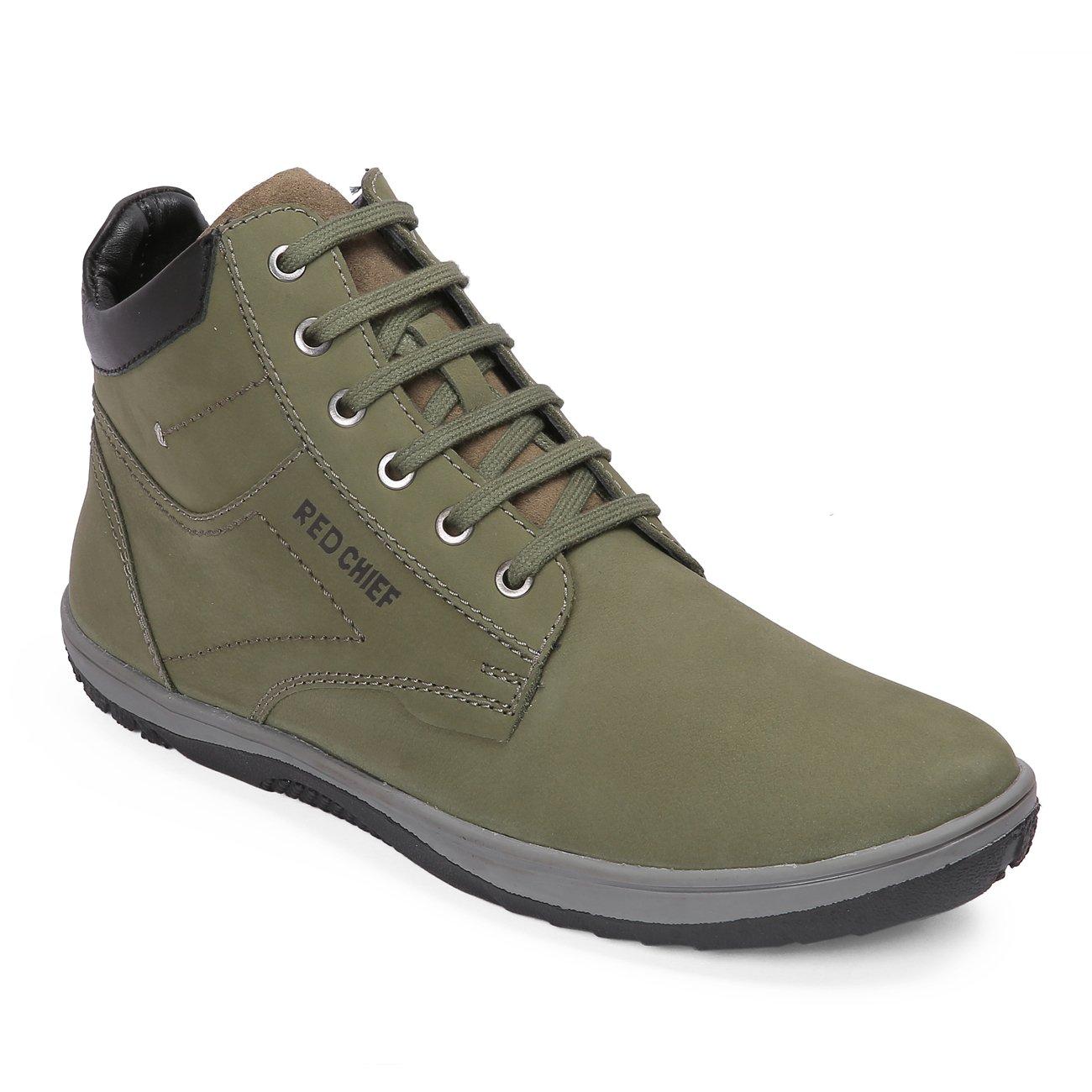 Buy Red Chief Men's Green Boots-6 UK